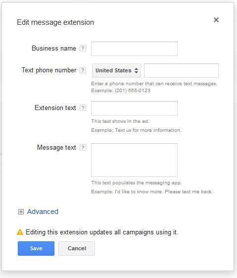 mobile conversion rates edit message extension