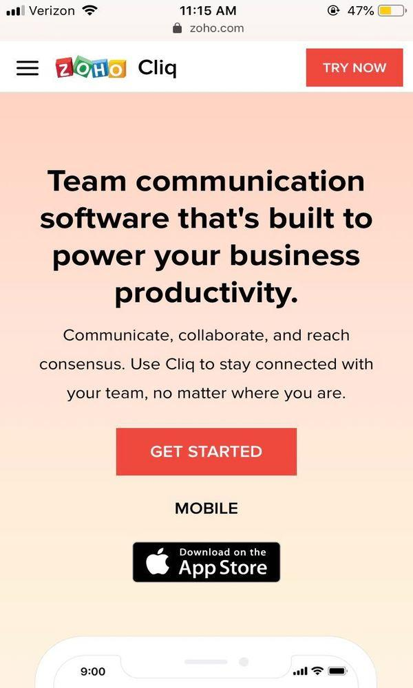 mobile-landing-pages-zoho-example