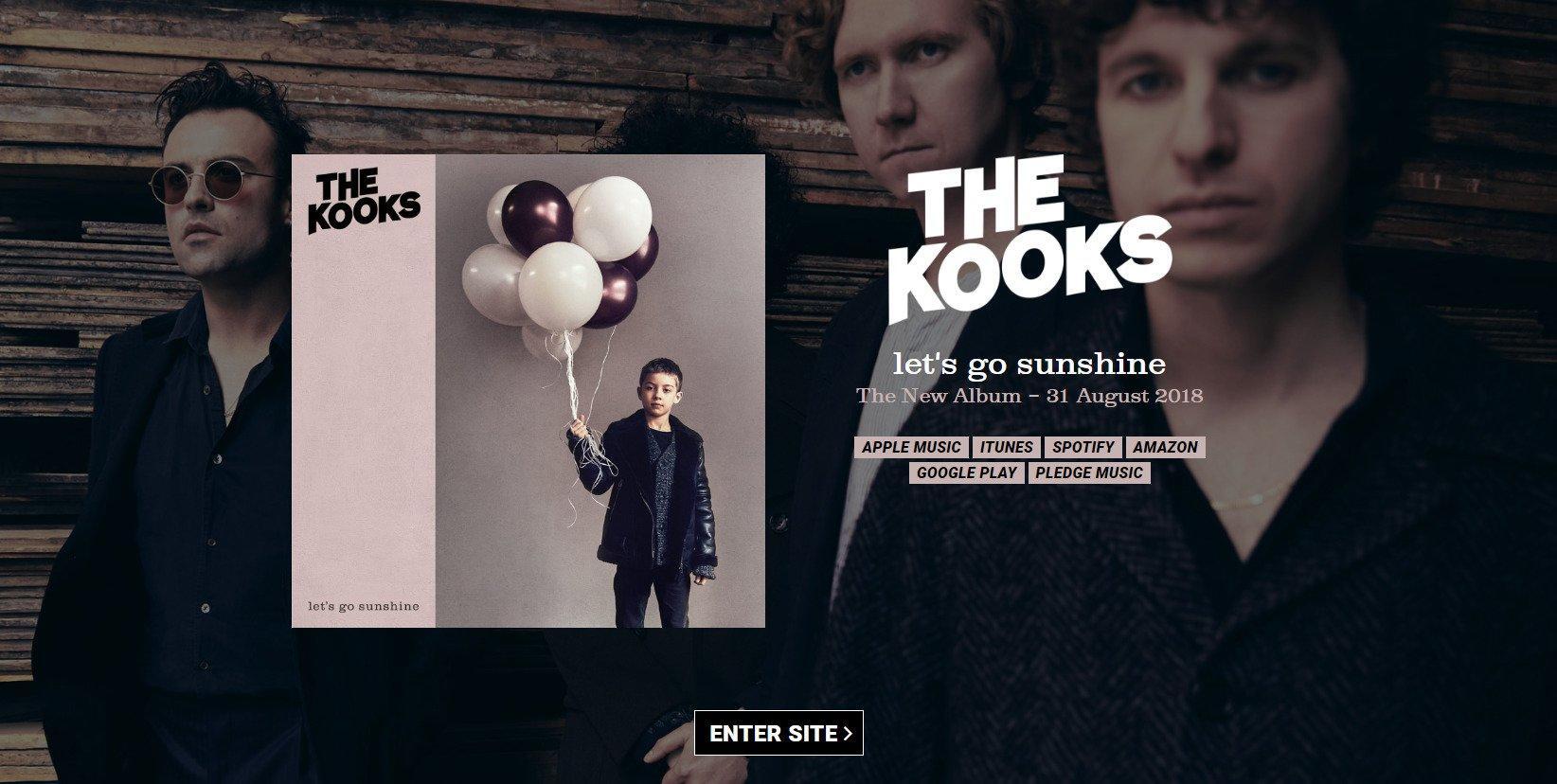 kooks-homepage-music-marketing-tips