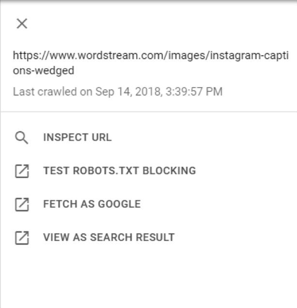 New Google Search Console Fetch