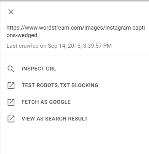 New Google Search Console Fetch