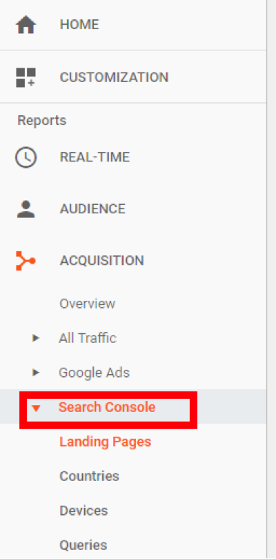 New Google Search Console Analytics