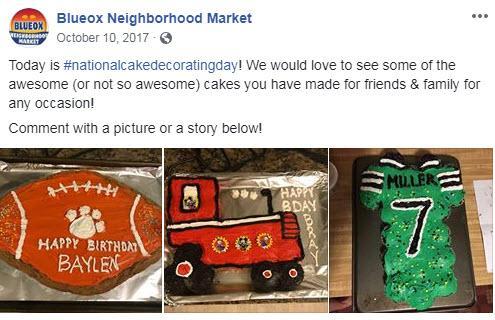 october marketing ideas cake decorating day