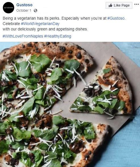 october marketing ideas world vegetarian day