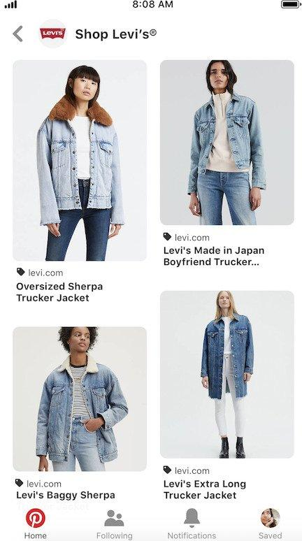 online-advertising-news-round-up-shop-levis-pinterest