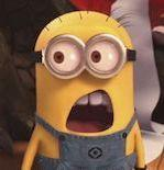 minion shocked at seo stat for online presence