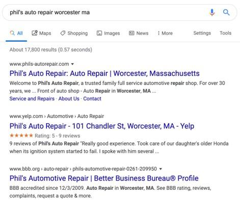 more SERP results