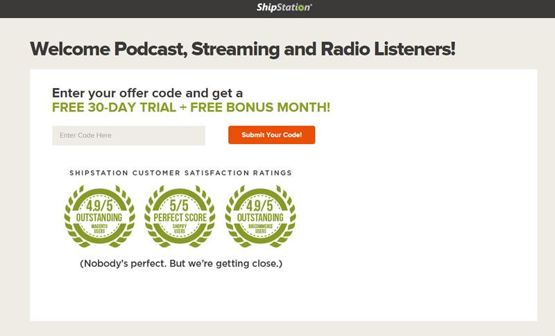 podcast ad promo code