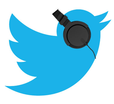 use twitter to discover which podcasts your prospects are listening to