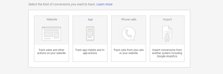 conversion tracking in Google Ads