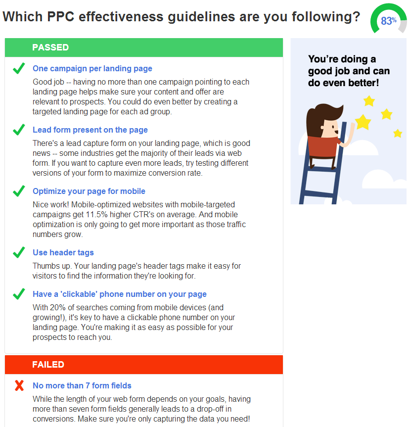 PPC Landing Page Tool Best Practices