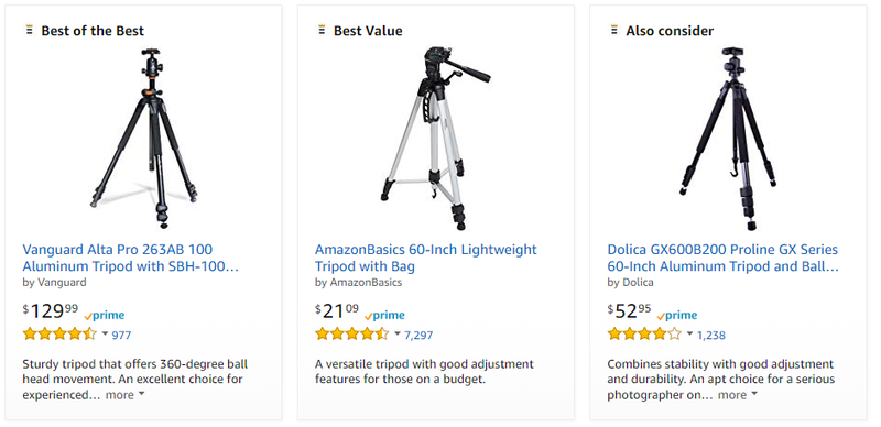 product-photography-amazon-tripods