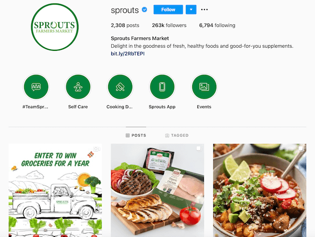 free ways to promote your instagram account sprouts farmers market account