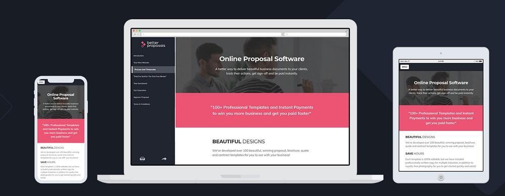 proposal generator tool Better Proposals