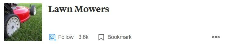 Quora Ads audience lawn mowers