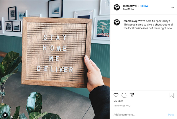 how to reach your audience online during covid19 shop local
