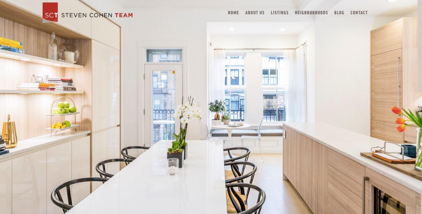stunning imagery for real estate landing pages