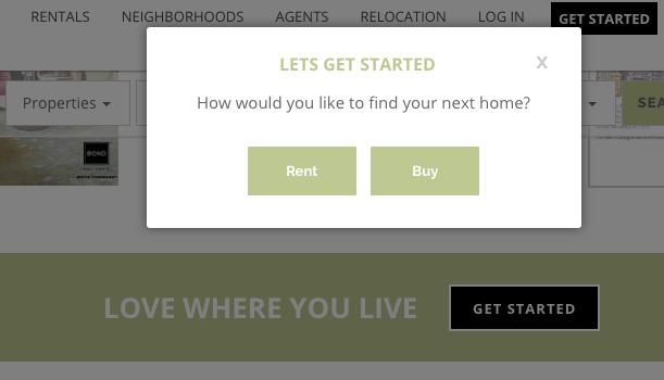 real estate landing page survey