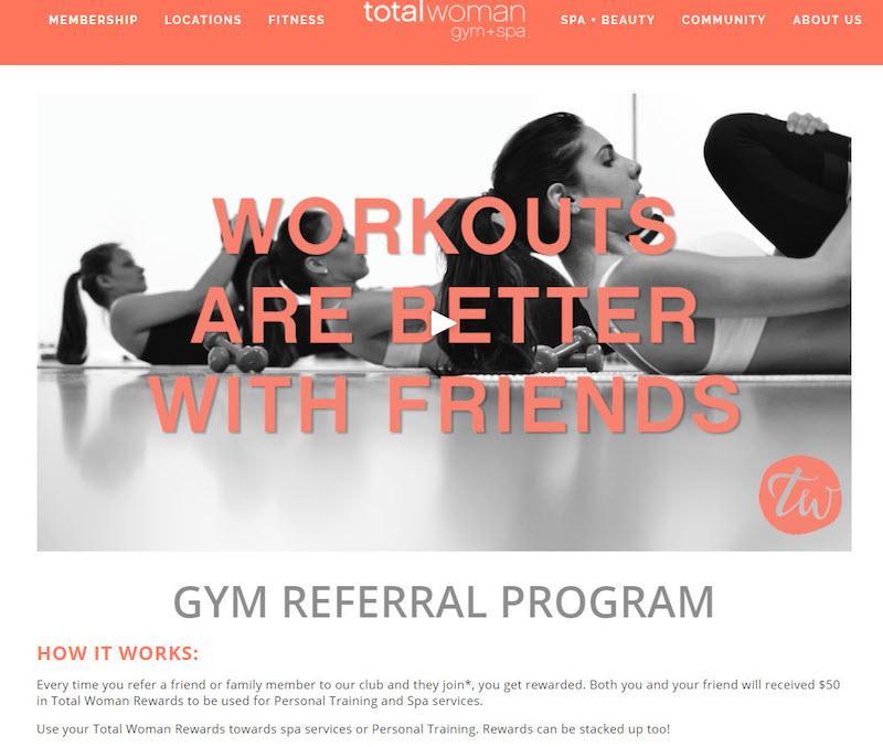 referral marketing points system