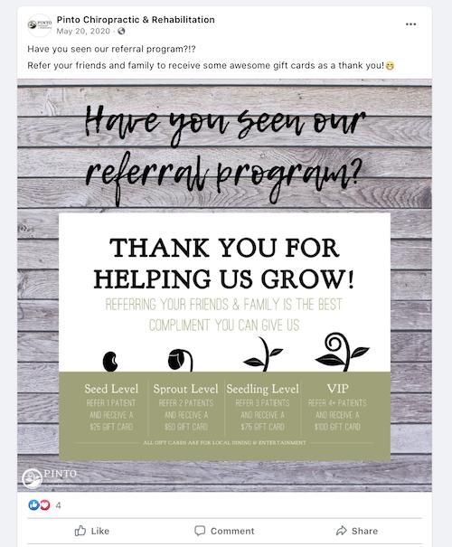 referral marketing promote