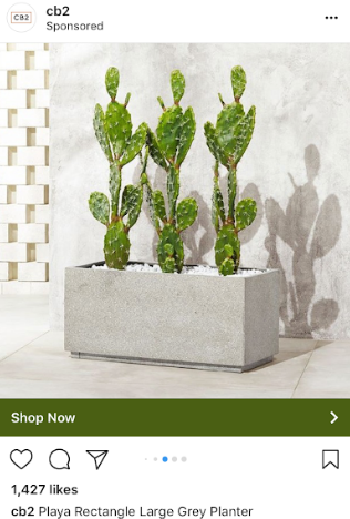 remarketing instagram ad