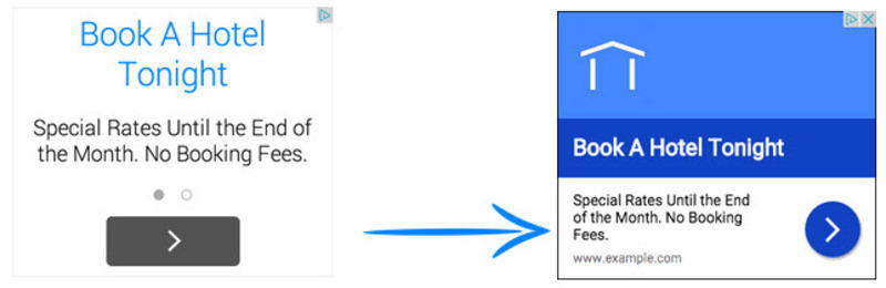 old example responsive display ads