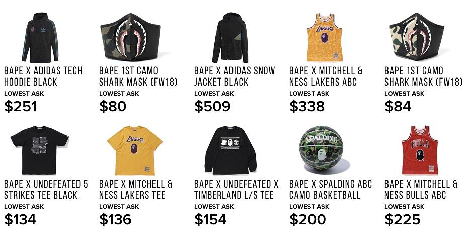 scarcity marketing Bape