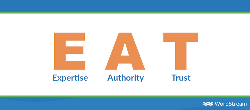 xu hướng seo cho năm 2021 google EAT