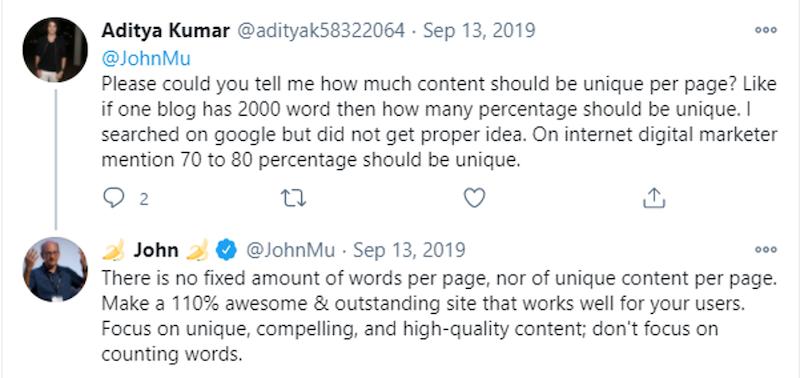 xu hướng seo cho nội dung độc đáo năm 2021