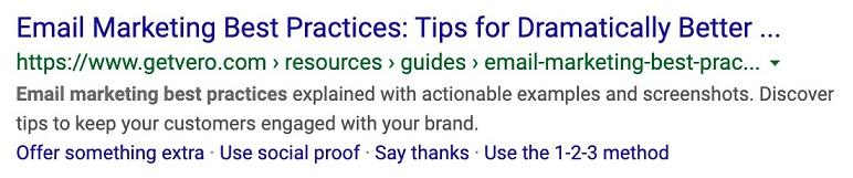 Sample SEO Writing Description