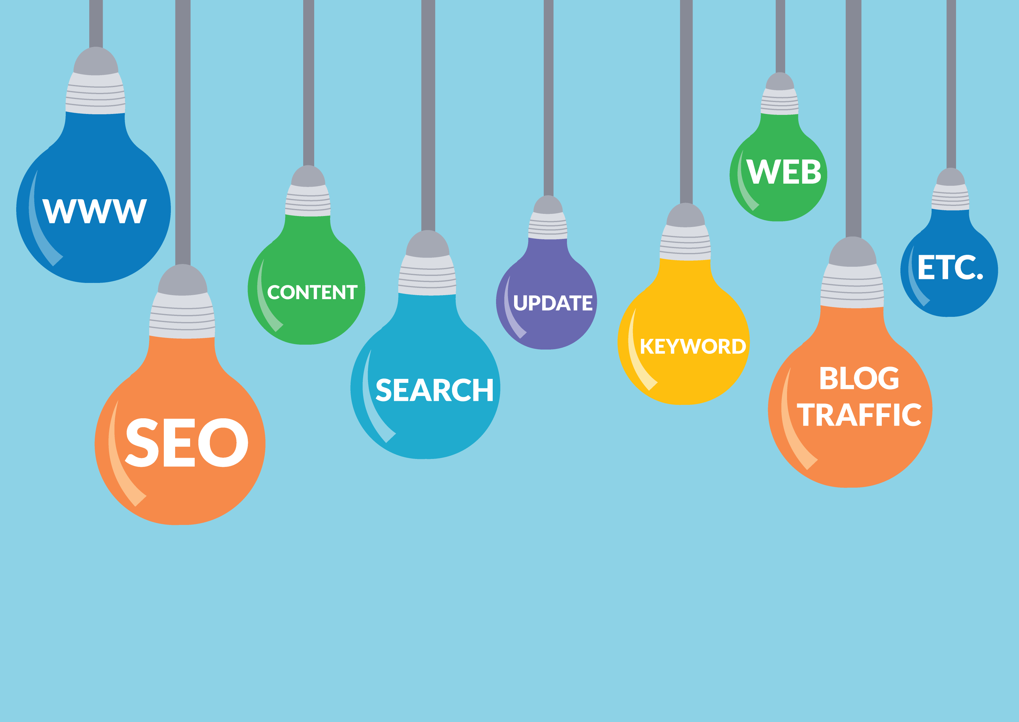 SEO FAQ Lights