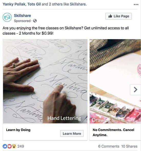 facebook ad guidelines and examples
