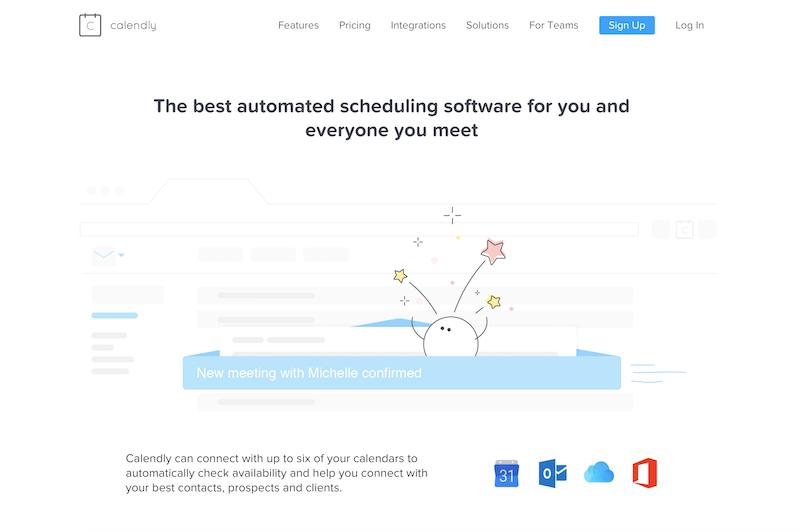Small business productivity tools-calendly
