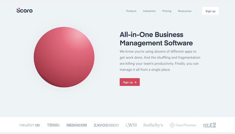 Small business productivity tools-scoro
