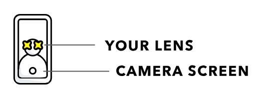 Snapchat advertising AR lens
