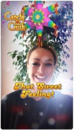 Snapchat advertising deep linking