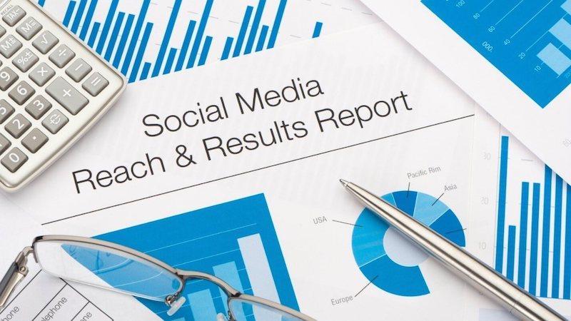 social media marketing advertising report