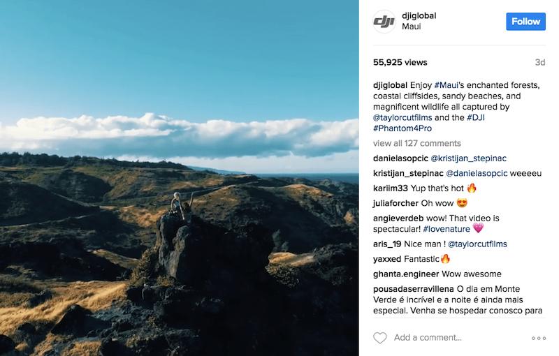 social media marketing instagram post