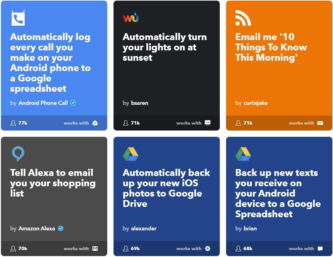 social media marketing tools IFTTT