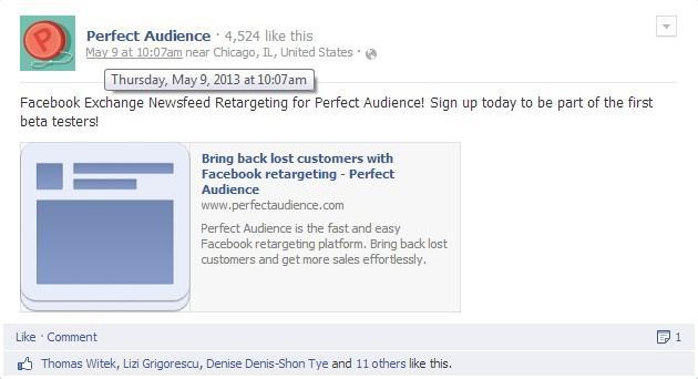 social media marketing tools Perfect Audience