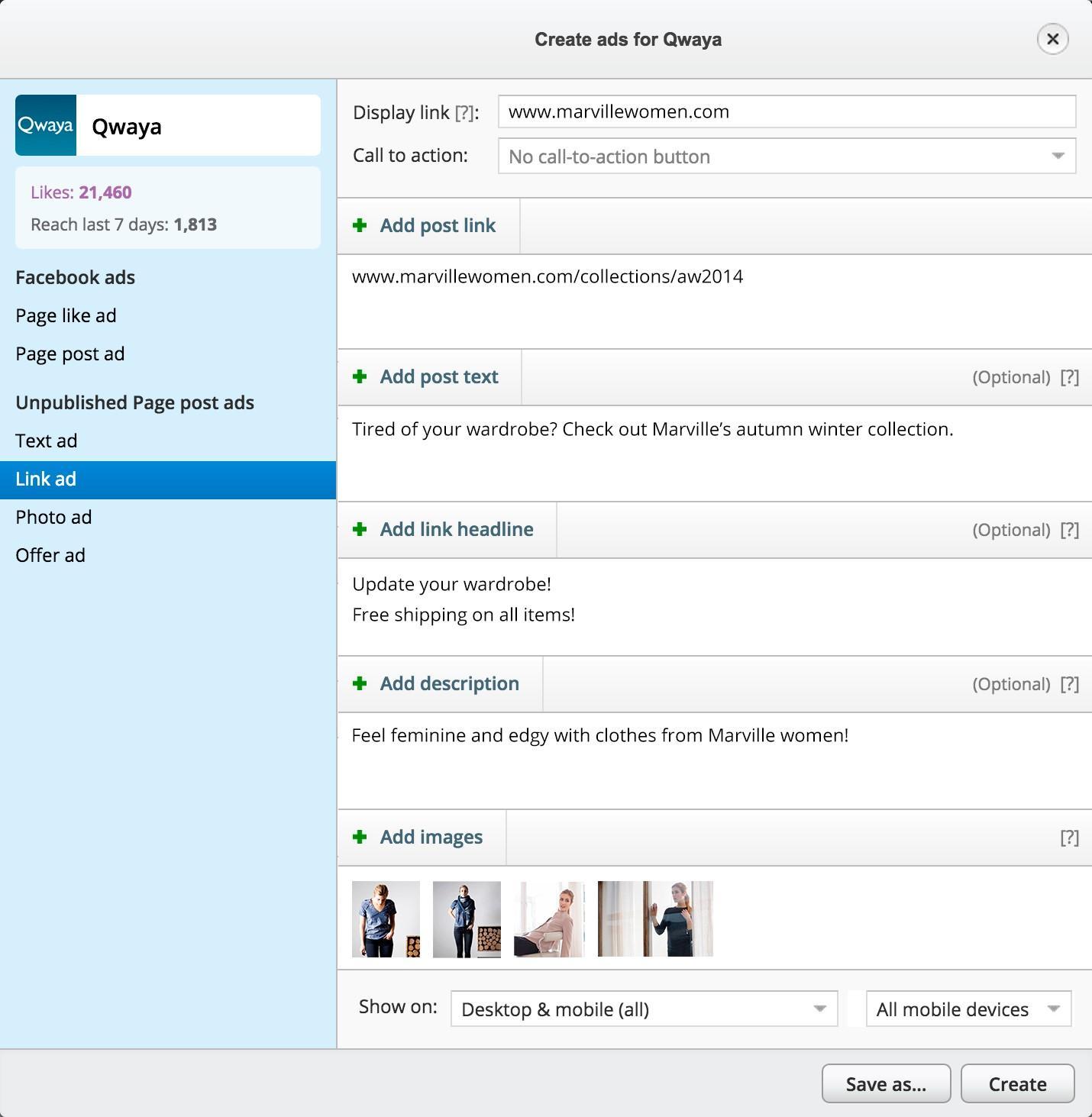 social media marketing tools Qwaya