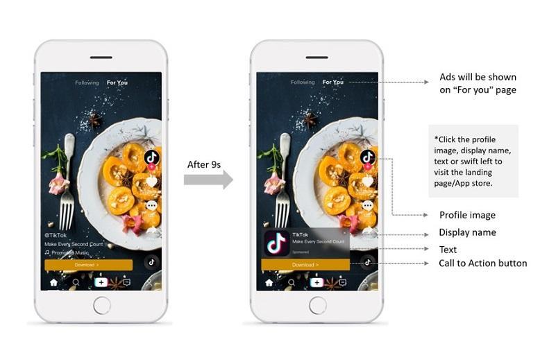social media video marketing example from TikTok