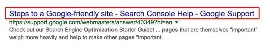 title tag seo for startups
