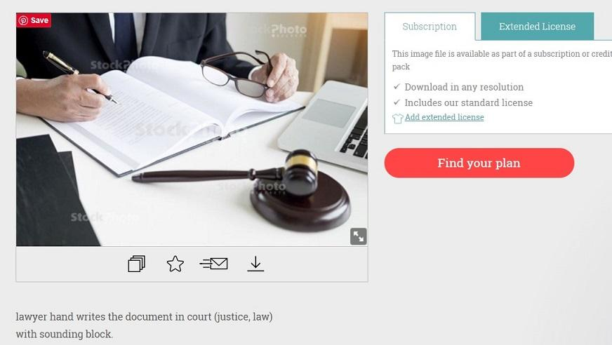 stock photo of lawyer