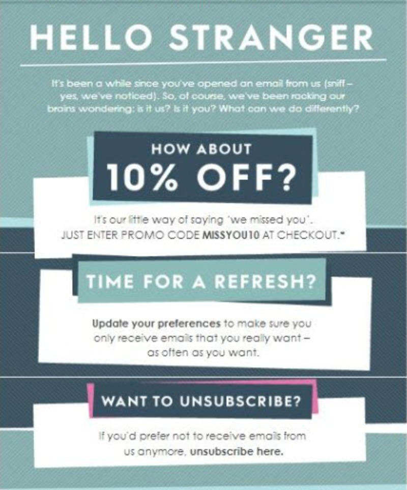 highstreet targeted email marketing