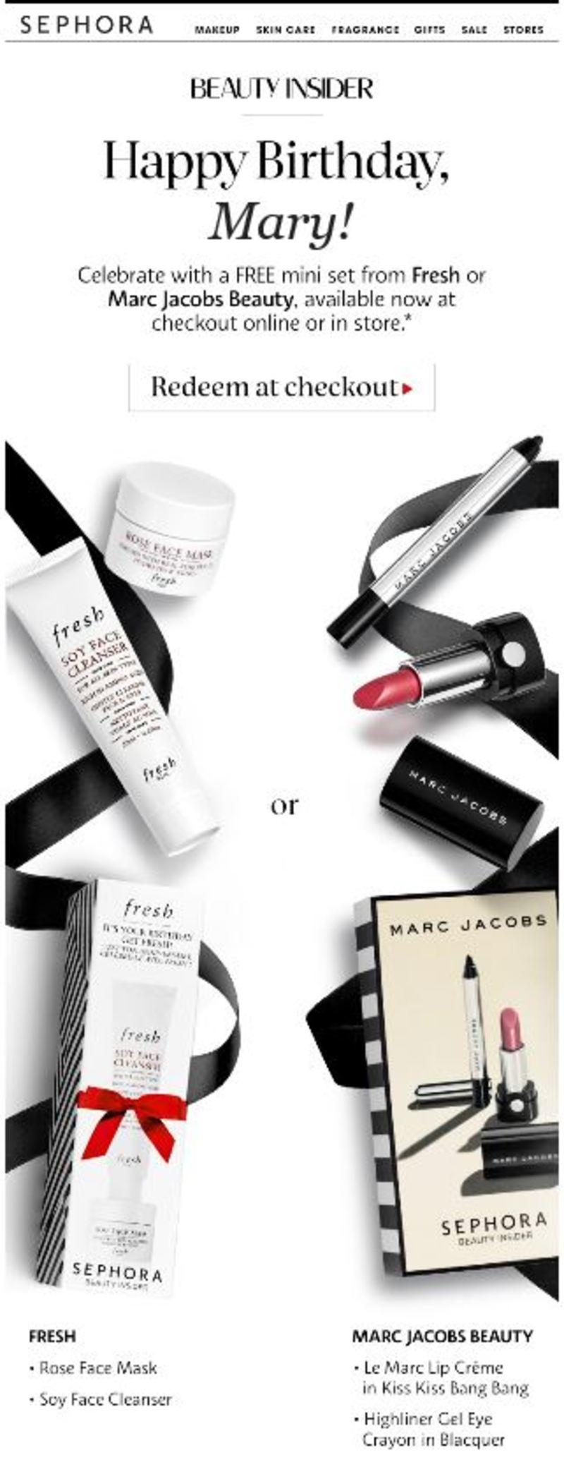 sephora targeted email marketing