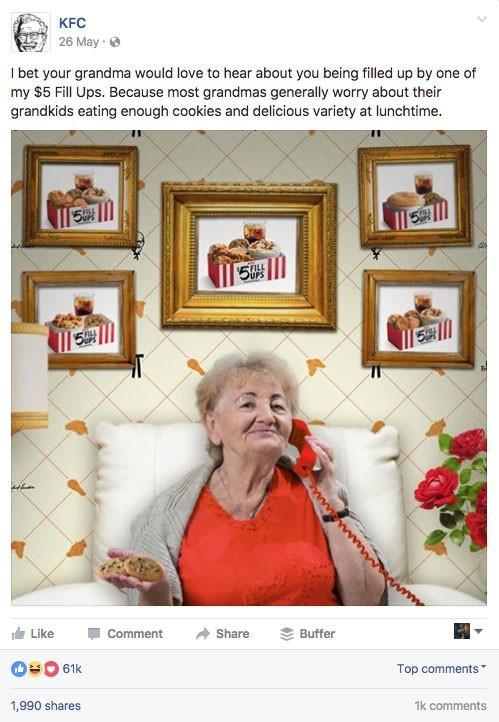 top-blog-posts-2018-kfc-facebook-ad