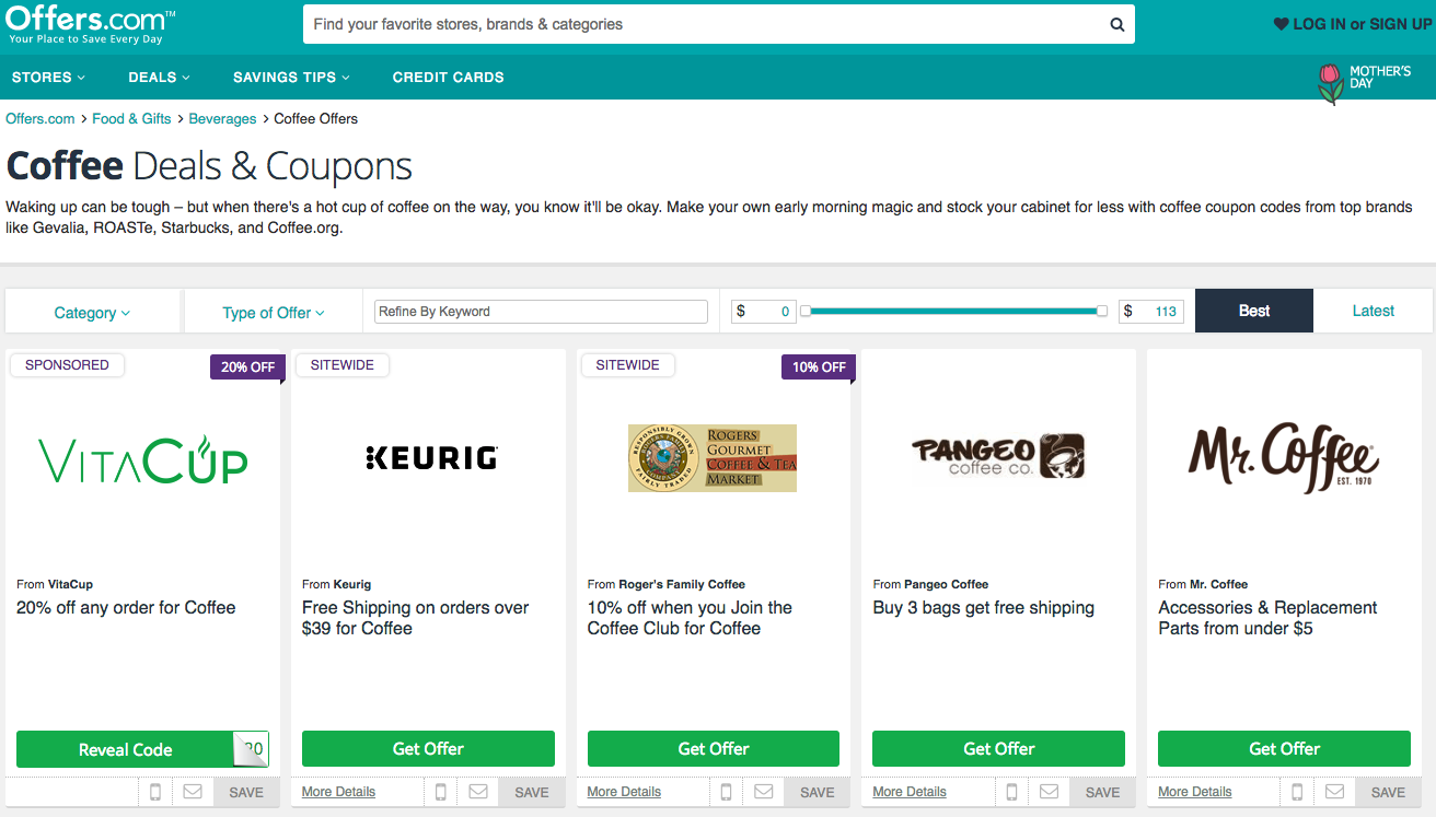 affiliate marketing coupon programs