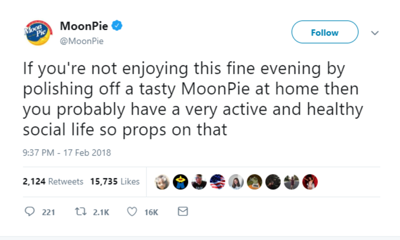 moonpie late night snack twitter brands