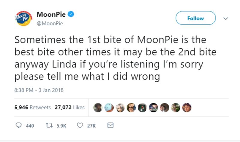 moonpie linda twitter brands